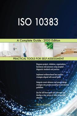 Wook.pt - Iso 10383 A Complete Guide - 2020 Edition
