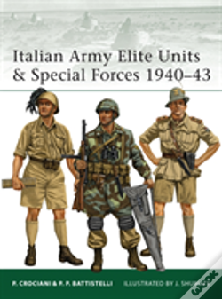 Wook.pt - Italian Army Elite Units And Special Forces 1940-43