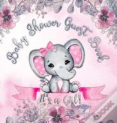It'S A Girl! Baby Shower Guest Book