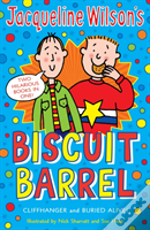 Jacqueline Wilson Biscuit Barrel'Cliffhanger', 'Buried Alive'