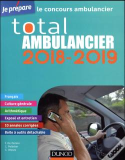 Wook.pt - Je Prepare ; Total Ambulancier 2018-2019 ; Concours Ambulancier