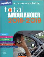 Je Prepare ; Total Ambulancier 2018-2019 ; Concours Ambulancier