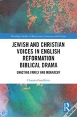 Wook.pt - Jewish And Christian Voices In English Reformation Biblical Drama