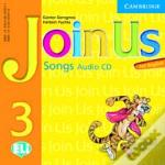 Join Us For English 3 Songs Audio Cd