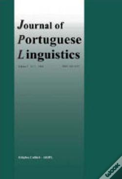 Wook.pt - Journal of Portuguese Linguistics - Vol. 7 - N.1/08