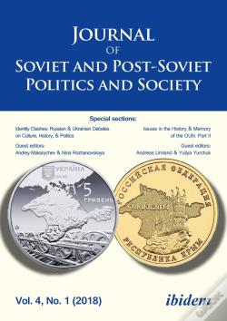 Wook.pt - Journal Of Soviet And Post-Soviet Politics And Society 2018/1