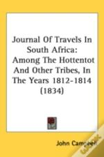 Journal Of Travels In South Africa