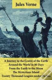 Journey To The Centre Of The Earth, Around The World In 80 Days, From The Earth To The Moon, The Mysterious Island & Twenty Thousand Leagues Under The Sea
