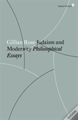 Wook.pt - Judaism And Modernity
