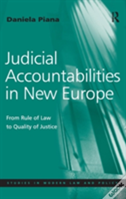 Wook.pt - Judicial Accountabilities In New Europe