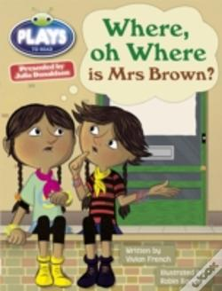 Wook.pt - Julia Donaldson Plays Where Oh Where Is Mrs Brown? 6-Pack (Turquoise)