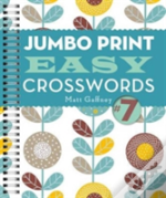 Jumbo Print Easy Crosswords