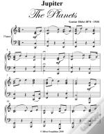 Jupiter The Planets Easy Intermediate Piano Sheet Music
