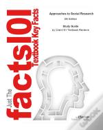 Just The Facts101 E-Study Guide For: Approaches To Social Research