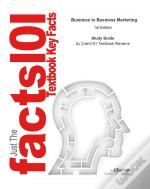 Just The Facts101 E-Study Guide For: Business To Business Marketing