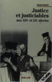 Justice Et Justiciables