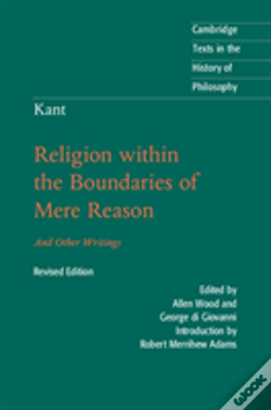 Wook.pt - Kant: Religion Within The Boundaries Of Mere Reason