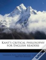 Kant'S Critical Philosophy For English R