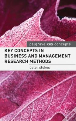 Wook.pt - Key Concepts In Business And Management Research Methods