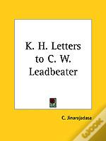 K.H. LETTERS TO C. W. LEADBEATER (1941)
