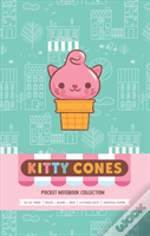 Kitty Cones Pocket Notebook Collection (Set Of 3)