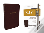 Kjv, Deluxe Thinline Reference Bible, Imitation Leather, Burgundy, Indexed, Red Letter Edition