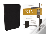 Kjv, Reference Bible, Personal Size Giant Print, Genuine Leather, Black, Red Letter Edition