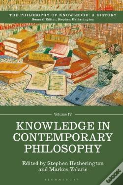 Wook.pt - Knowledge In Contemporary Philosophy