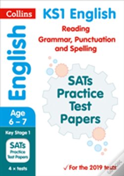 Wook.pt - Ks1 English Reading, Grammar, Punctuation And Spelling Sats Practice Test Papers