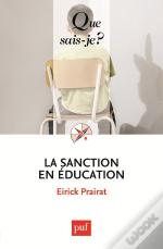 La Sanction En Education( 5ed)