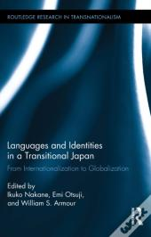 Languages And Identities In A Transitional Japan