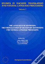 Languages Of Definition