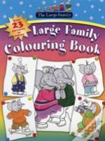 Large Family Colouring Book