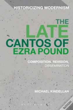 Wook.pt - Late Cantos Of Ezra Pound