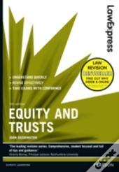 Law Express: Equity And Trusts (Revision Guide)