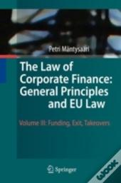 Law Of Corporate Finance