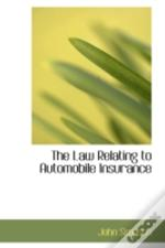 Law Relating To Automobile Insurance