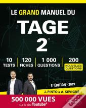 Le Grand Manuel Du Tage 2 120 Fiches De Cours 10 Tests Blancs 1000 Questions Corriges En Video 2019