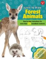 Learn To Draw Forest Animals