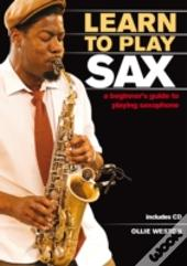 Learn To Play Sax Book & Cd