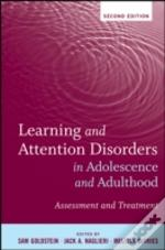 Learning And Attention Disorders In Adolescence And Adulthood