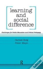 Learning And Social Difference