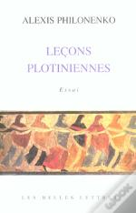 Lecons Plotiniennes