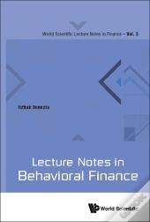 Lecture Notes In Behavioral Finance