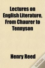 Lectures On English Literature, From Cha