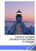 Lectures On English Literature From Chau