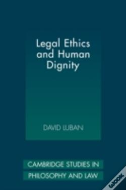 Wook.pt - Legal Ethics And Human Dignity