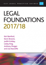 Legal Foundations 2017/2018