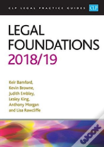 Legal Foundations 2018/2019
