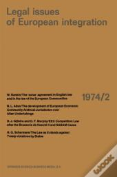 Legal Issues Of European Integration